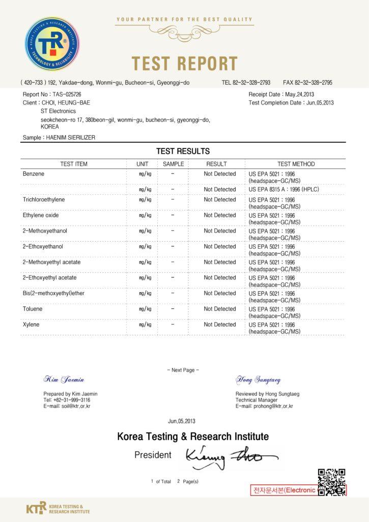 Korea Testing & Research Institute